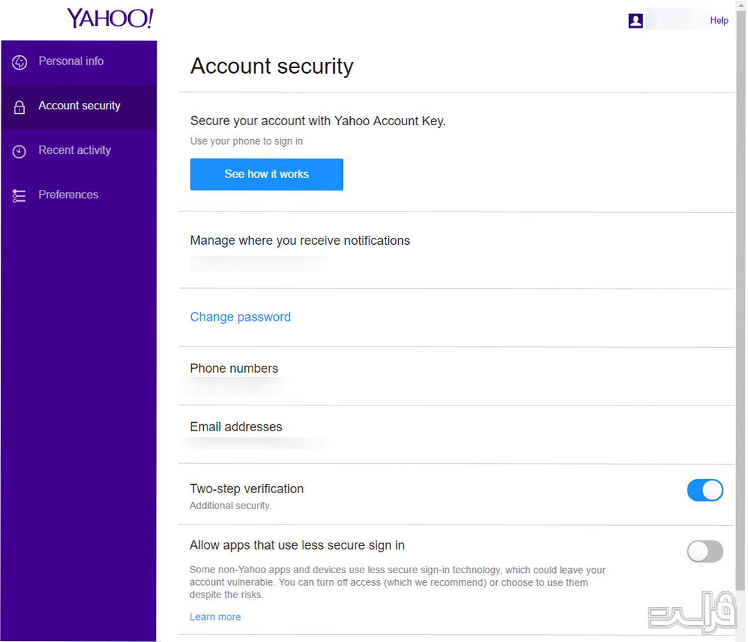Yahoo Mail Security