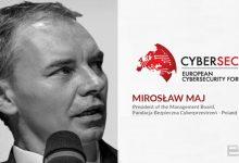 تصویر از صحبتهای میروسلاو ماج (Miroslaw Maj) در مورد امنیت سایبری