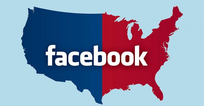 تلاشهای گسترده فیسبوک جهت جلوگیری از سرکوب رایدهندگان facebook USA election2 780x405