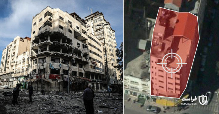 [object object] پاسخ موشکی اسراییل به حملات سایبری حماس 5Israel Neutralizes Cyber Attack by Blowing Up Building with Jihadist