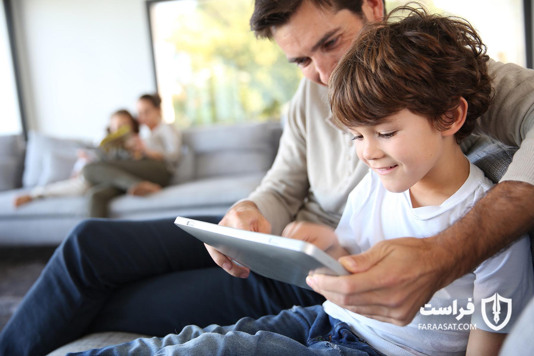 آموزش به فرزند درباره پیامها و ایمیلهای جعلی