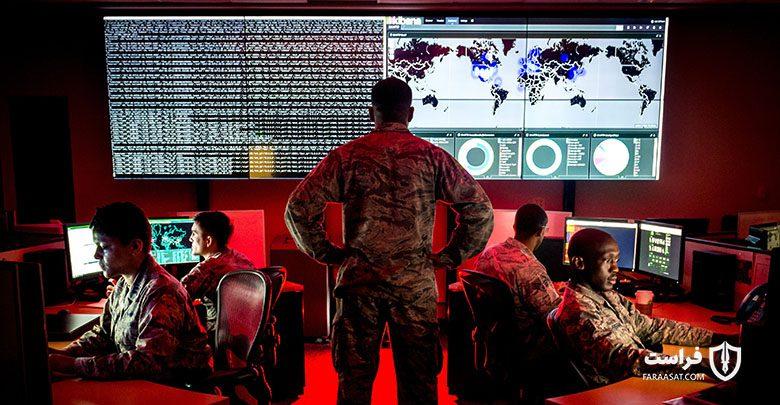گمانه زنی دولت آمریکا بر سر استقرار بدافزار در سیستمهای کنترل کننده نیروگاههای برقی روسیه vvUs cyber command min 780x405