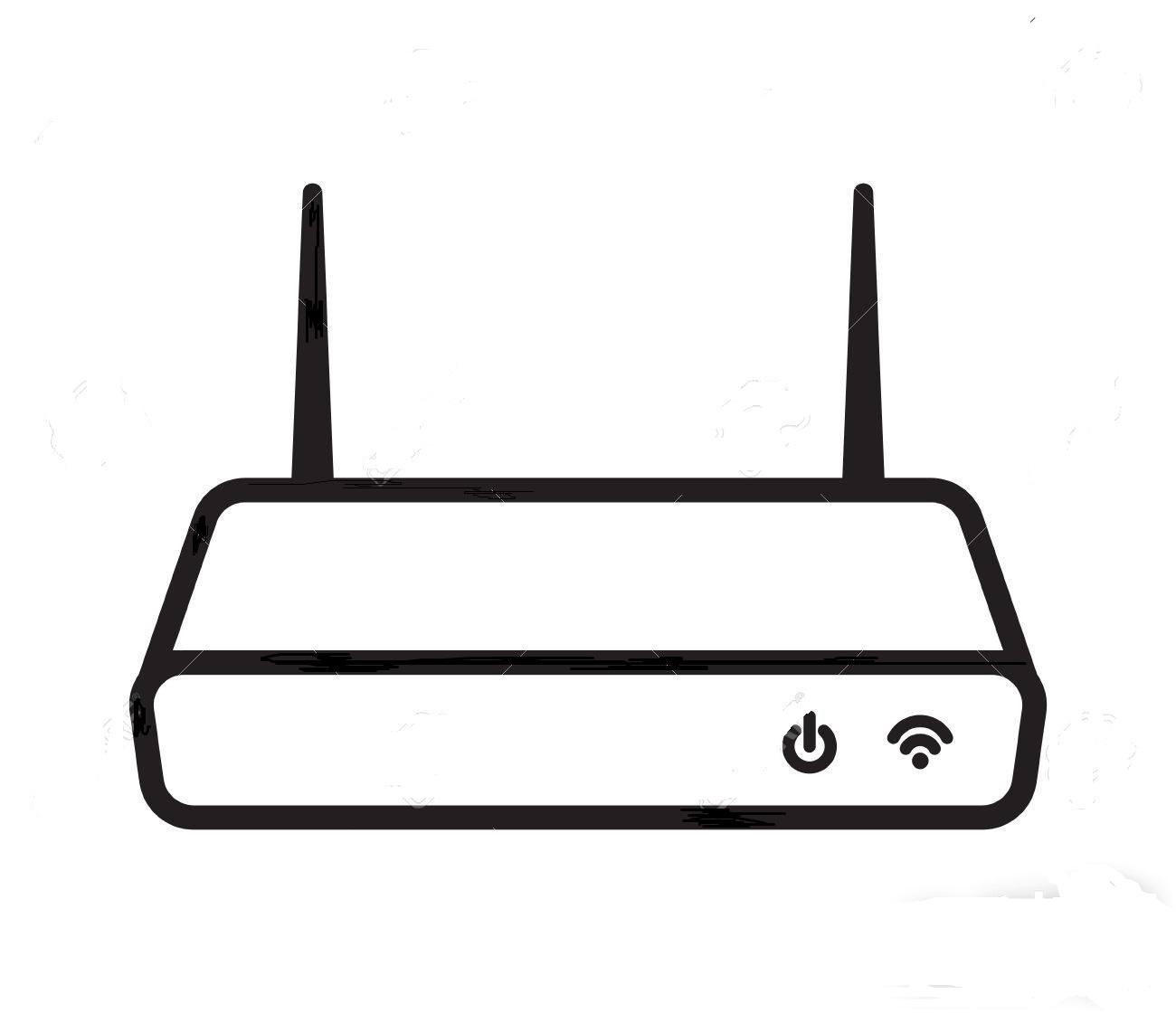 12 گام برای امن سازی شبکه بیسیم خانگی 11bbbb77855254 wifi modem router