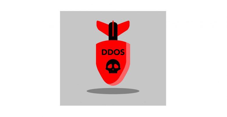 حمله منع سرویس توزیع شده حمله منع سرویس توزیع شده 1isolated bomb icon ddos attack concept vector 21585337 780x405