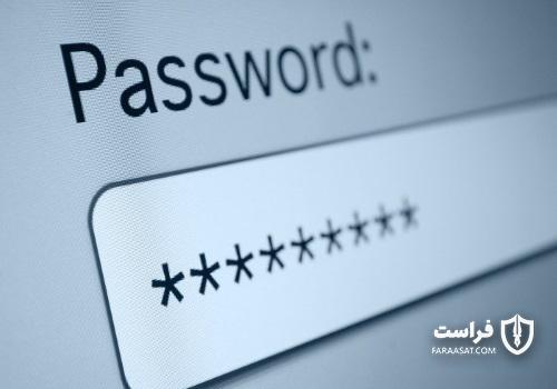 استفاده از رمز ورود برای امنیت لب تاپ