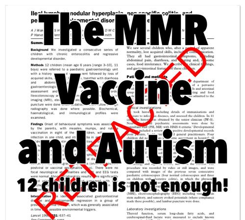 mmr و اوتیسم در کودکان