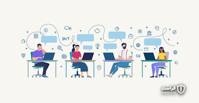 مخاطره های امنیتی در زیرساختهای مراکز تماس ارایه دهنده خدمات به مشتریان