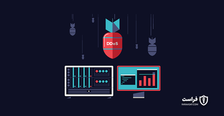 بررسی حملات DDoS بر ضد برنامه های کاربردی تلفن همراه
