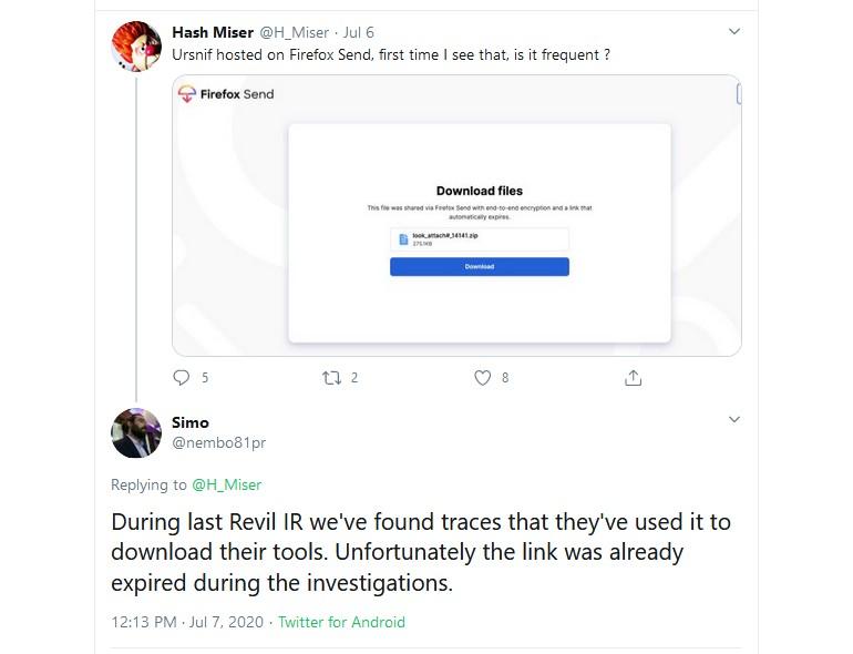 تعلیق سرویس Firefox Send