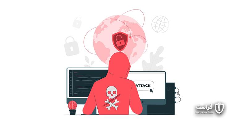گزارش حمله سایبری به یک شرکت آمریکایی