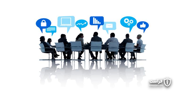 الگوی رفتاری سایبری برای کارمندان صف