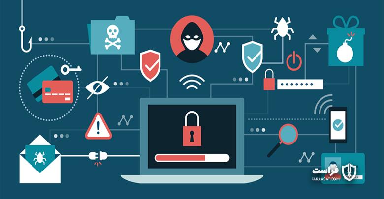 انواع حملات سایبری و بدافزارها