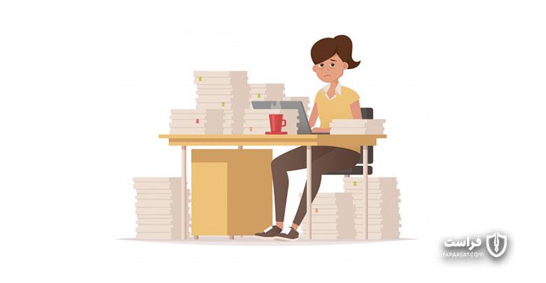 نظارت هوشمند بر رفتار کارکنان در محیط کار