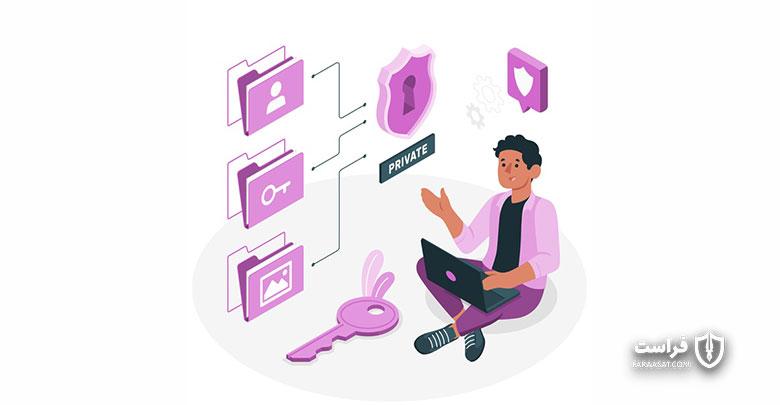 عدم ارتباط با شبکه سازمانی